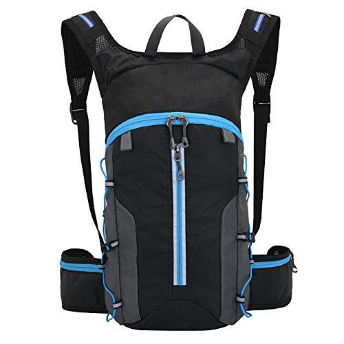 ADHW Waterproof Bicycle Bag Cycling MTB Bike Backpack Breathable 10L UK (Color : Blue)