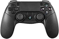 Mando Inalámbrico para PS4,Controlador De Juegos Inalámbrico con Control De Vibración Dual del Motor De Doble Palanca para Playstation4 / Platstaitons3 / PC