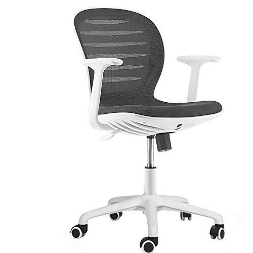 BLWX - Fauteuil pivotant-Chaise de bureau Home Office Chair Fauteuil Boss Chair Chaise d'étude Pas d'accoudoir + accoudoir Élévateur Chaise pivotante (Couleur : Z)