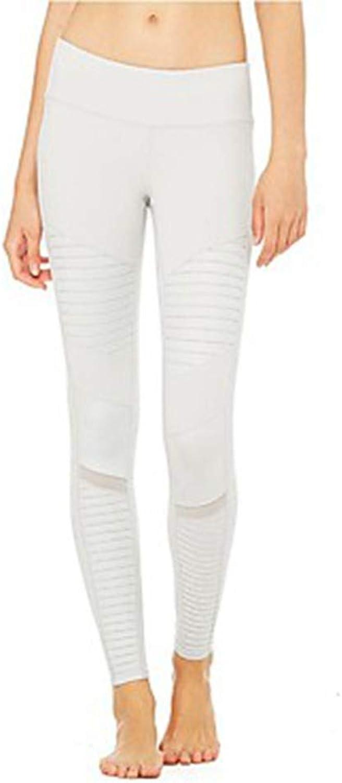 AILIUJUNBING Women's 1 Running PantsWhite, Black Sports Pants Trousers Leggings Yoga, Fitness, Gym Activewear Breathability