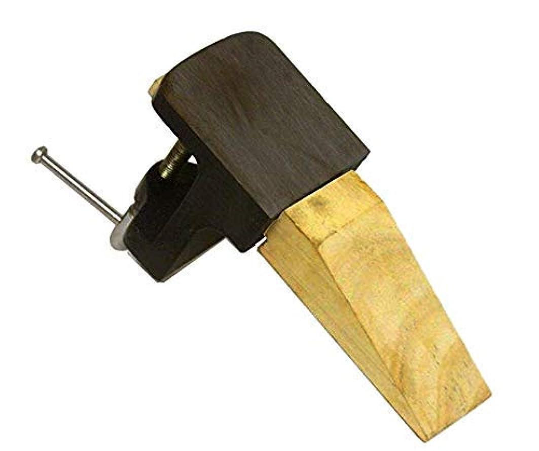 サッカーおなじみの軽食Bench Anvil PIN CLAMP Jewelers Steel & Wood Block Jewelry Making Bench Workbench [並行輸入品]