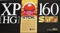 TDK XP [ HG ] 160分 S VHS 鮮烈画像 XP-HG HiVisual Quality Sound ST-160XPHGK