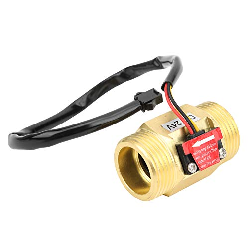FTVOGUE YF-B10 Interruptor de caudalímetro de efecto Hall G1in Sensor de flujo de agua Contador de medidor de turbina DC24V 2~50L/MIN