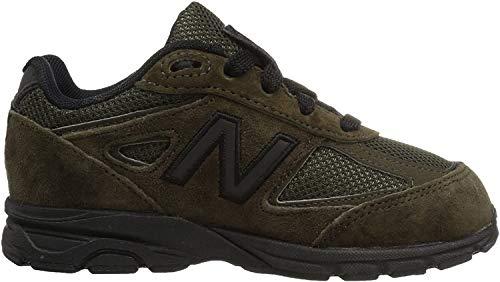 New Balance New Balance Unisex-Baby 990 KJ990V4I Kinder Schuhe, 26 EUR, Olive/Black