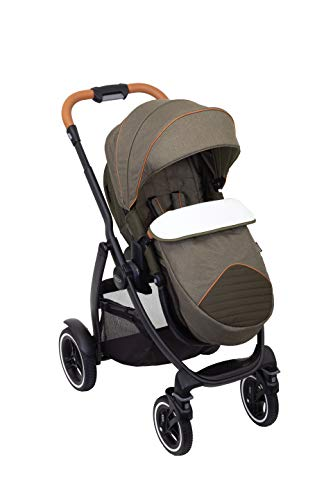Graco Evo XT Pushchair/Stroller (birth up to approx. 3 years (0-15kg)) with Luxury Footmuff and...