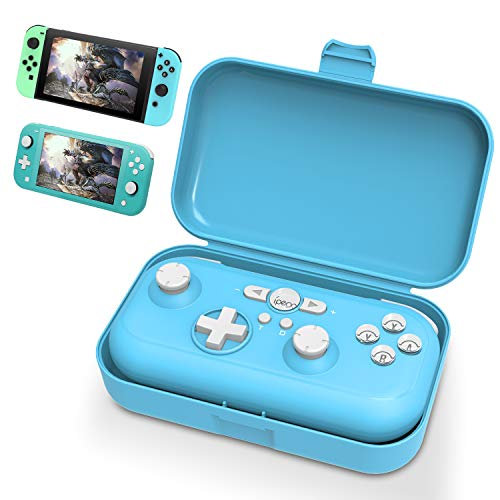 YUANHOT Remote Switch Controller Gamepad Joystick for Nintendo Switch and Switch Lite, Support Turbo Dual Vibration & Motion Control - Light Blue