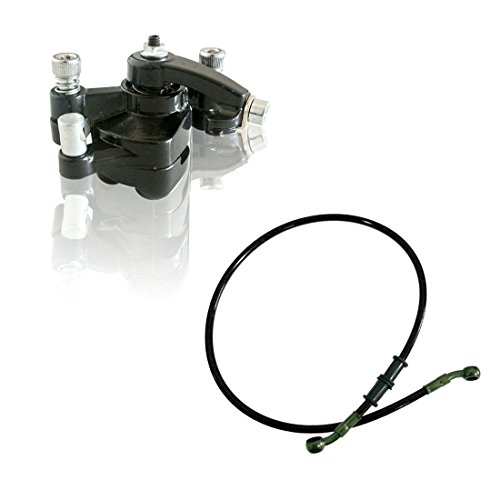 JRL 80cm olie brandstof lijn achter schijfrem remklauw voor 43 47 49cc zak Mini Dirt Bike