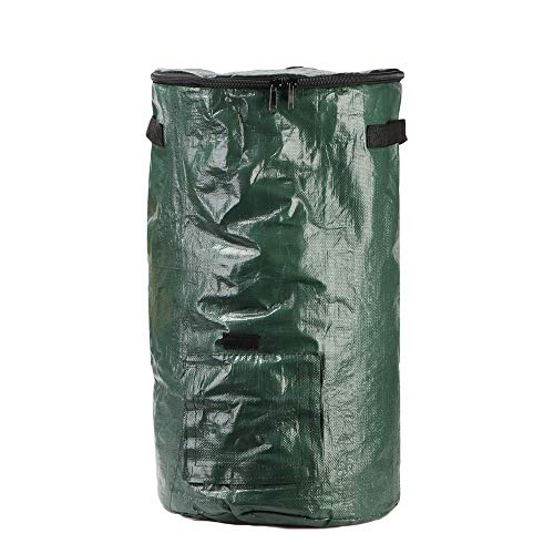 Great Features Of Xiuguai Environmental Home Garden Compostable Organic Bin PE Bag Composters with L...