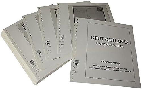 LINDNER Das Original Deutschland Sonderpostkarten für philatelistische Ausstellungen Ganzsachen - Vordruckalbum Jahrgang 1949-2011