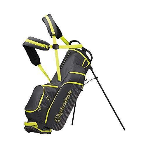 TaylorMade 2019 LiteTech 3.0 Stand Golf Bag, Gray/Lime