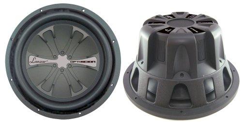 Lanzar OPTSW15D OPTI SCION 15-Inch 1000 Watt High Power Dual Voice Coil Subwoofer