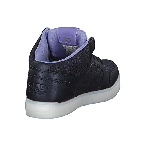Skechers Mädchen Energy Lights Hohe Sneaker, Blau - 6