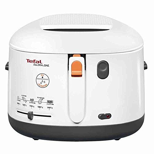 Tefal FF1631 Fritteuse One Filtra / 1.900 Watt / wärmeisoliert/ 1,2 kg Fassungsvermögen /...