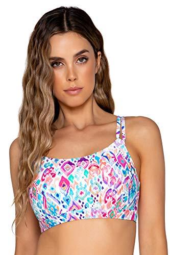 Sunsets Women's Taylor Bralette Bikini Top Swimsuit with Underwire, Ipanema, 40E/38F/36G