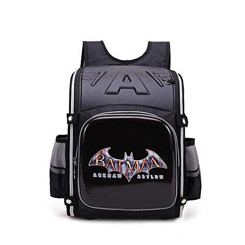 CLOUD Student Schoolbags Cartoon And Animation Children's Backpacks Men And Women Travel Rucksacks With Reflective Strips Batman-27 * 15 * 35cm