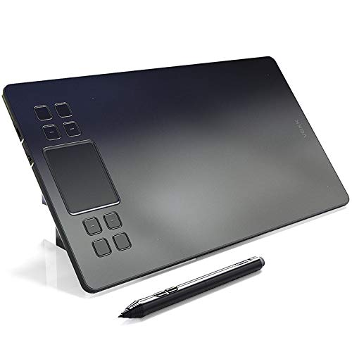 NBWS Graphics Drawing - Tableta Digital con 8192 Niveles de lápiz pasivo Compatible con Sistema Win y Mac