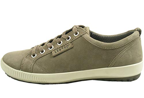 Legero 1-00823 Tanaro Schuhe Damen Halbschuhe Sneaker Schnürschuhe, Größe:37.5 EU, Farbe:Grau