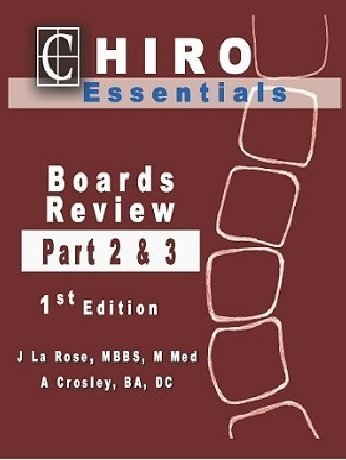 Chiro Essentials Boards Review Parts 2 And 3