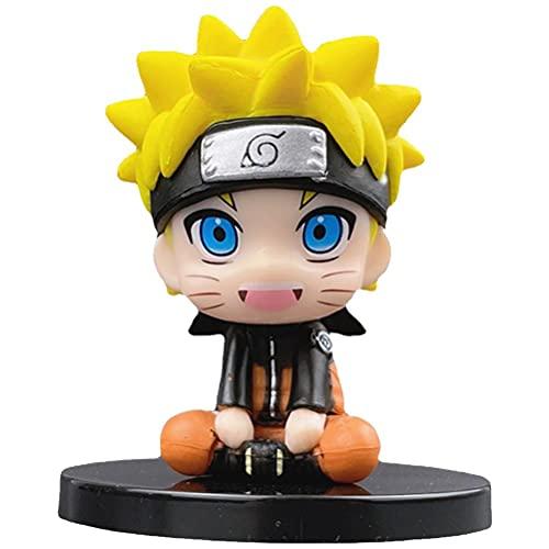 Cricia Figura di Anime, Figura fatta a Mano di Naruto Modello Action Figure giocattoli da scrivania, Mini personaggi Figura per Bambini Regali di Compleanno per Bambini Giocattoli Modello Decorazione