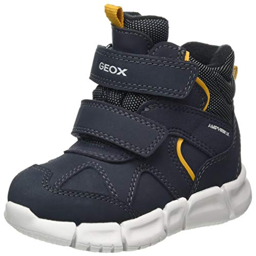 Geox Jungen B FLEXYPER Boy B ABX Snow Boot, Blue (Navy), 24 EU
