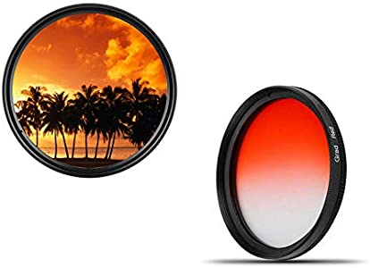 Professional Colour Graduated Filter dHD Digital Red...