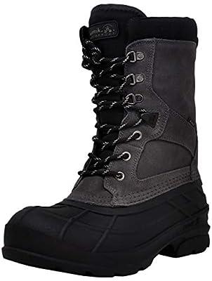Kamik Men's Nationplus Boot, Charcoal 10 M US