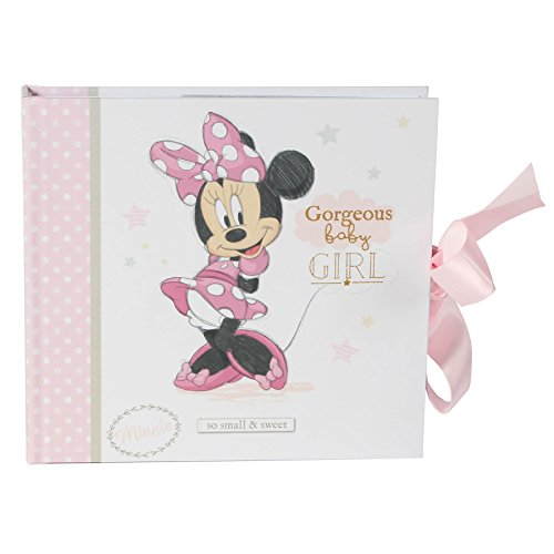 Disney WBM-GFT52 Minnie-Mouse-Fotoalbum, für Mädchen, transparent, 200 g