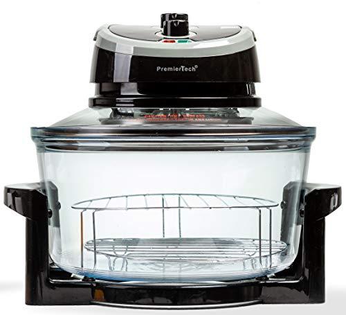 PremierTech Forno Alogeno ad Aria Ventilato 17 litri 1400 watt Multifunzione cuoce senza olio PT-FA12