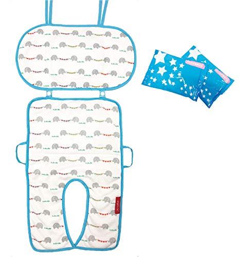 原貿易angelette『2-Wayひんやりベビーカーシート保冷剤付き』