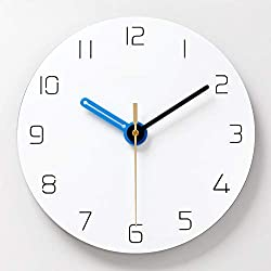 N /A Wall Clock Simple Silent Wall Clock Nordic 12 Inches Home Decoration Quartz Modern Design Timer Living Room Bedroom Watch Clocks Fashion