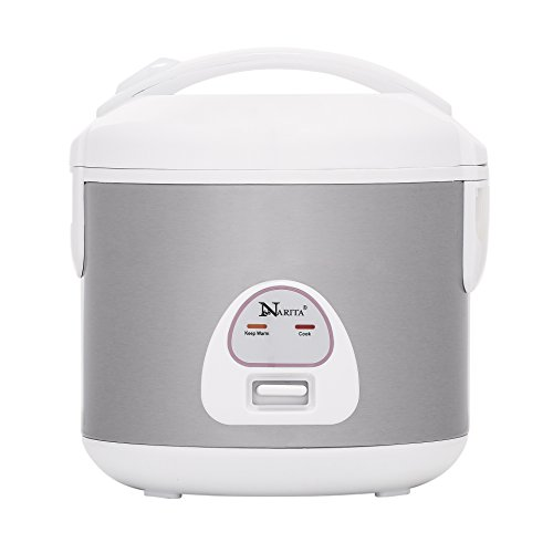 Narita 6-Cup (12 Cup Cooked) Rice Cooker/Stainless