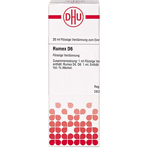 DHU Rumex D6 Dilution, 20 ml Lösung