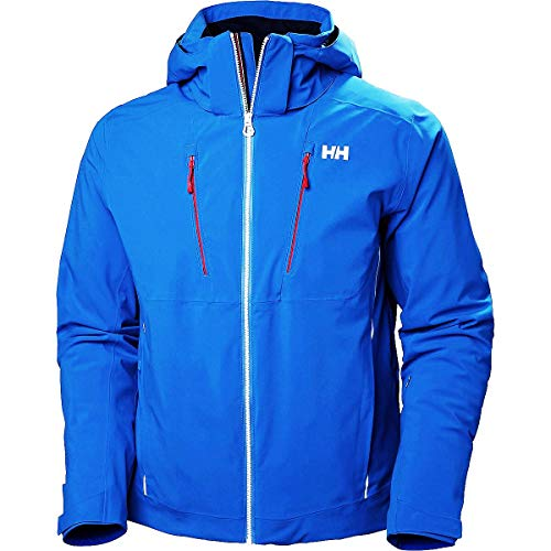 Helly Hansen Herren Alpha 3.0 Isolierung Skijacke, Electric Blue, S