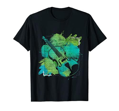Geige Geschenk Musikinstrument Violine T-Shirt