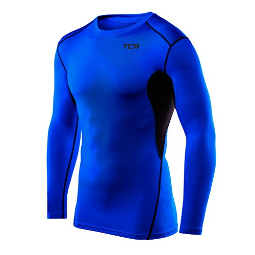 41MOqrG2p9L. SS500  - TCA Men's & Boys' Hyperfusion Compression Base Layer Top Long Sleeve Under Shirt