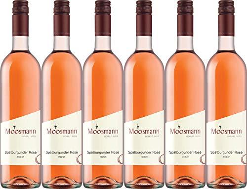 Moosmann Spätburgunder Rosé 2019 Trocken (6 x 0.75 l)