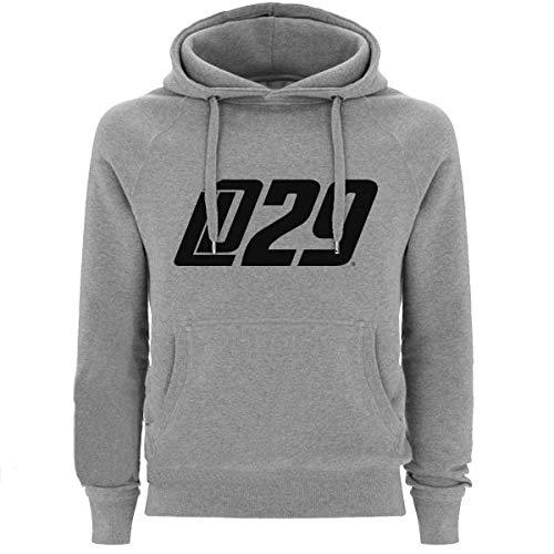Scallywag® Eishockey Hoodie Leon Draisaitl LD29 Logo I Größen S - XXL I A BRAYCE® Collaboration (Kapuzenpullover aus der Offiziellen LD29 Kolllektion) (M)