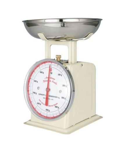 DULTON(ダルトン) アメリカンキッチンスケール 1kg アイボリー 100-061