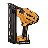 Bostitch BCN650D1-R 20V MAX 2.0 Ah Lithium-Ion 15 Gauge FN Angled Finish Nailer Kit (Renewed)