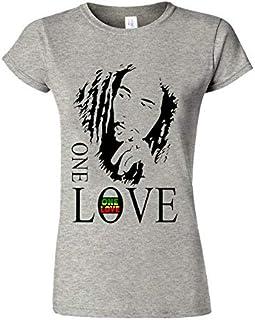 Bob Marley One Love T Shirt Jamaicaanse Reggae Tee Trendy vrouwen T-shirt