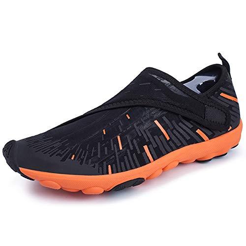 Kaper Go Chaussures aquatiques pour homme - Noir - Taille L - Pour rameur