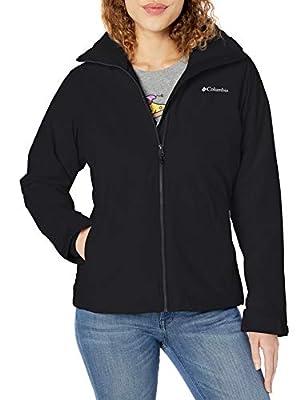 Columbia Women's Ruby River Interchange Jacket, Black, Small