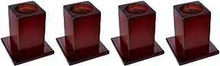 Patterson Medical - Elevadores de madera para cama (4 unidades)