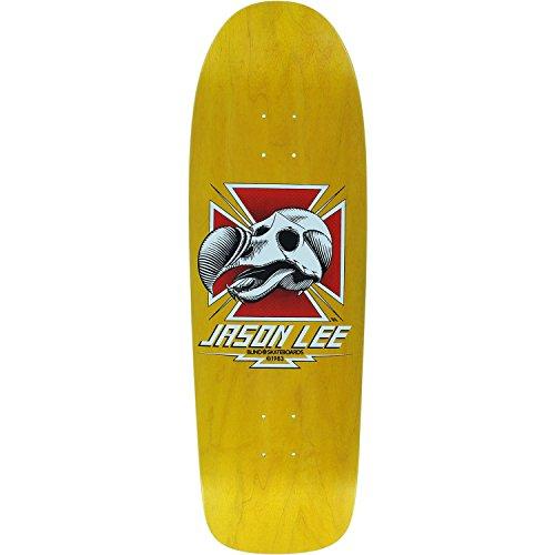Blind Skateboards Jason Lee Dodo Skull Yellow Old School Skateboard Deck - Heat Transfer Graphic - 9.62' x 31.8'