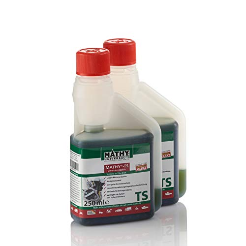 MATHY-TS Reiniger für den 2-Takt Motor Zweitakt-Additiv 0,5 Liter als 2 x 250 ml