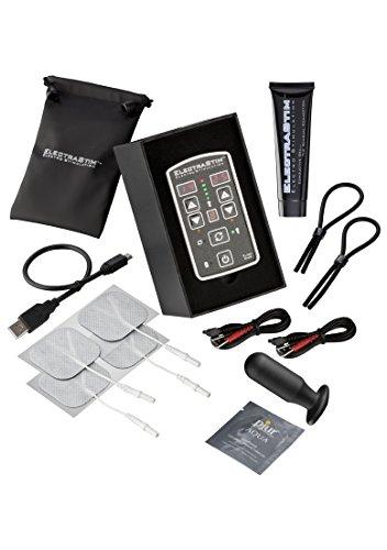 Electrastim Flick Duo Stimulation Pack Black/Silver Os - 500 g