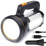 LED Handscheinwerfer Wiederaufladbar, Super Hell 7000...