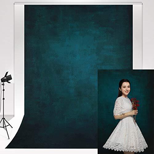 Kate Fotografie Hintergrund Dunkelblauer 1,5x2,2m Foto Studio Hintergrund Retro Mikrogradienten klassisches Blau Hochzeits Fotografie Foto Wand Artikelanzeige Waren Zeigen Requisiten