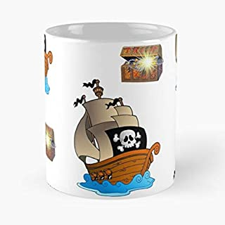 Looking For The Treasure Shirt Classic Mug - The Funny Coffee Mugs For Halloween, Holiday, Christmas Party Decoration 11 Ounce White-lotussys.