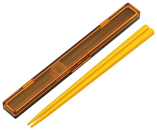スケーター 超スリム 箸 箸箱 セット 18cm マルシェ にんじん 日本製 ABCS3